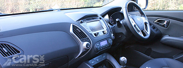 Hyundai ix35 Review Interior view