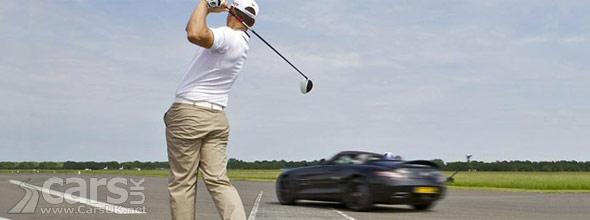 Mercedes SLS AMG Golf Ball Catch