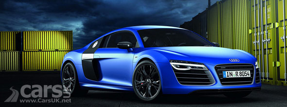 Photo of Blue 2013 Audi R8