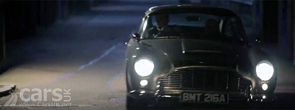 Photo of Aston Martin DB5 in SKYFALL