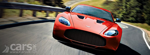 Aston Martin V12 Zagato Red Photo