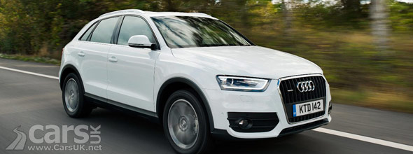 New Audi Q3 2.0 TDI 140PS
