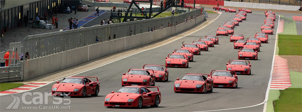 60 Ferrari F40 at Silverstone Photo
