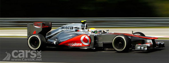 Photo of Lewis Hamilton McLaren Hungary 2012