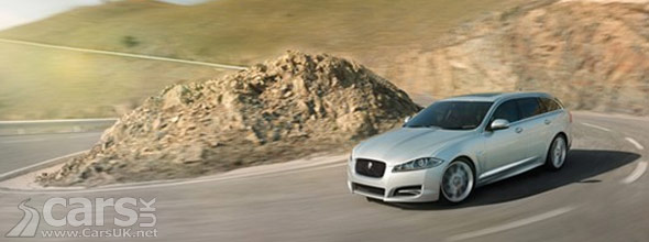 Photo of Jaguar XF Sportbrake on Mountain Roads