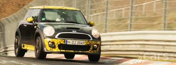 Photo of New MINI JCW GP at Nurburgring