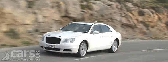 Spy photo of 2013 Bentley Continental Flying Spur