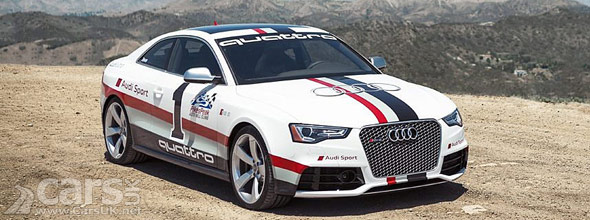Photo of the Audi RS5 at Pikes Peak