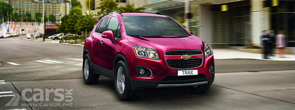 Chevrolet Trax Revealed Ahead Of Paris Motor Show Debut