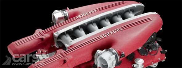 Photo of Ferrari V12 engine