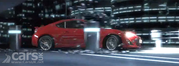 Photo from Toyota GT86 TV Advert