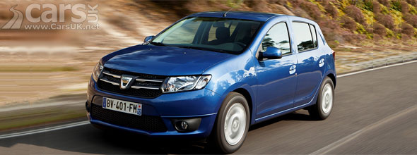 Photo of blue 2013 Dacia Sandero