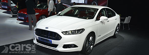 2013 Ford Mondeo on the floor at the 2012 Paris Motor Show