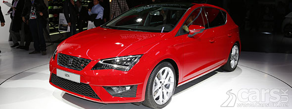 2013 SEAT Leon at the Paris Motor Show