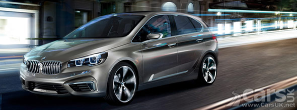BMW Concept Active Tourer Exterior Photo