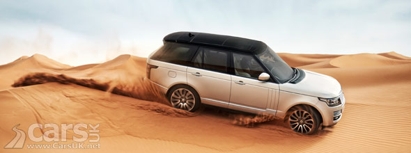 Photo of 2013 Range Rover in desert