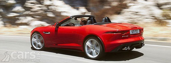 Photo of red Jaguar F-Type