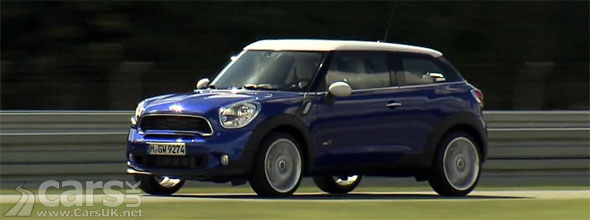 photo of New MINI Paceman video