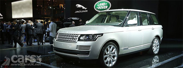 Photo of 2013 Range Rover at the 2012 Paris Motor Show