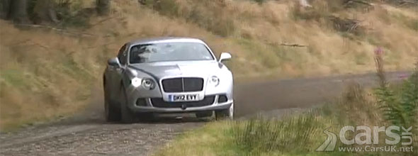 Top Gear take the Bentley Continental GT Speed Rallying
