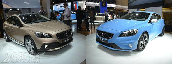 Photo of Volvo V40 Cross Country & R-Design Paris 2012