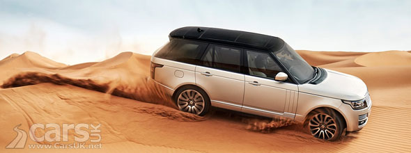 Photo of 2013 Range Rover driving in sand dunes