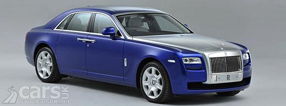 Photo of blue 2013 Rolls Royce Ghost