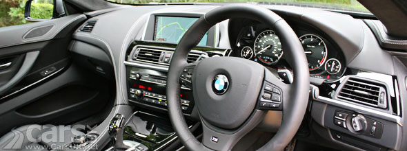 Photo of the interior of the BMW 640d Gran Coupe