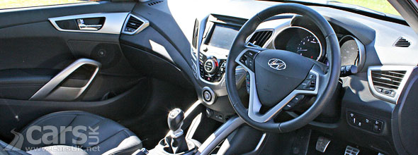 Photo of Hyundai Veloster interior