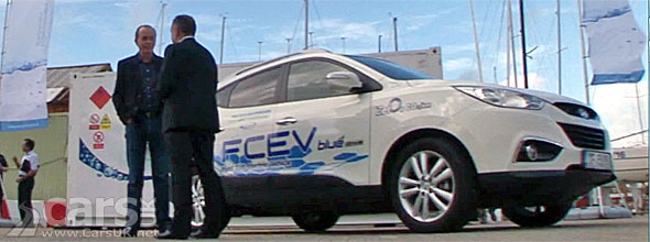 Photo of Hyundai ix35 Hydrogen FCEV