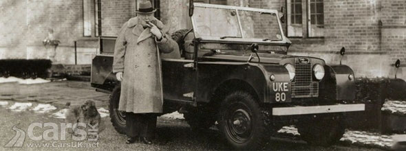 Photo of Churchill's Land Rover