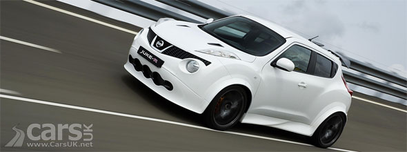 Photo of white Nissan Juke-R Customer Car #001