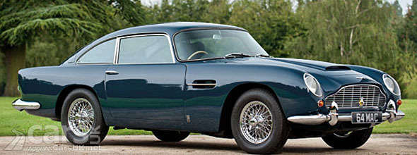 Photo of Paul McCartney's Aston Martin DB5