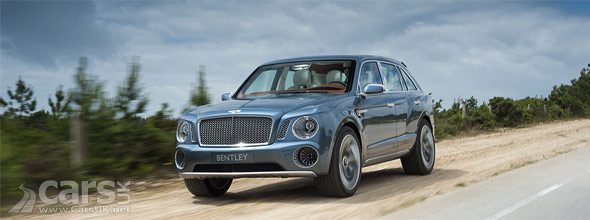 Photo of Bentley EXP 9 F SUV