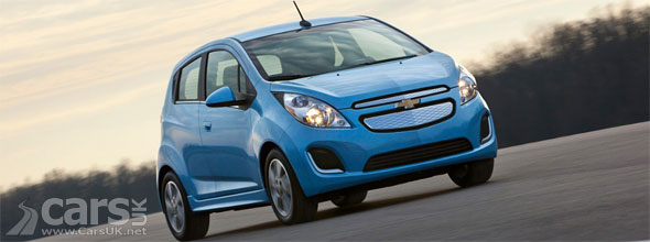 Photo of electric Chevrolet Spark EV