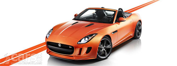 Photo of Jaguar F-Type in Firesand with Black Pack