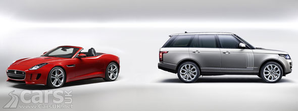 Photo of Jaguar F-Type & 2013 Range Rover