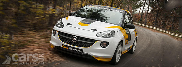 Photo Opel Adam R2 Rally car