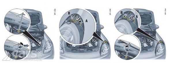 how to remove porsche headlights diagram
