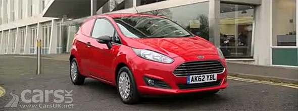 2013 Ford Fiesta Van Facelift