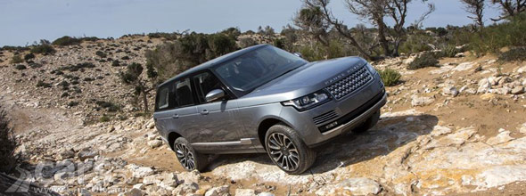 Photo of New Range Rover off road