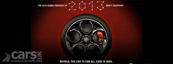 Alfa Romeo 4C Tease