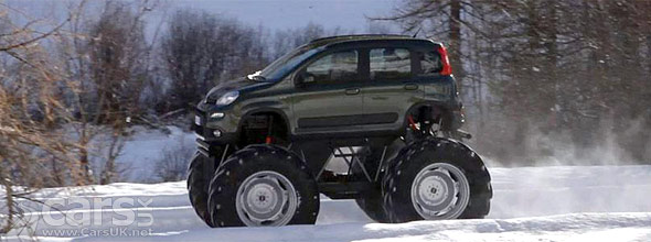 Photo of Fiat Panda Monster Truck