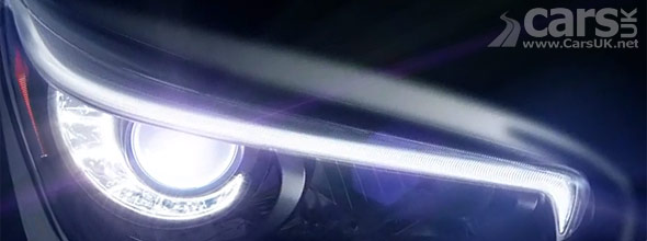 Photo of new Infiniti Q50 headlight