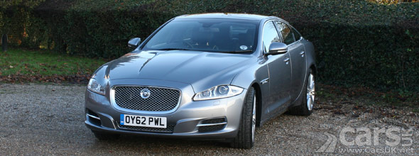 Exterior photo of 2013 Jaguar XJ