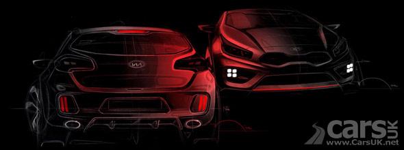 Kia Cee'd GT & Pro_Cee'd GT Tease Photo