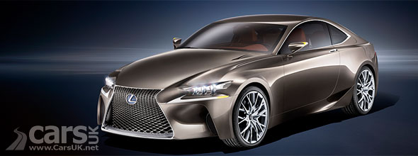 Photo of Lexus LF-CC Concept