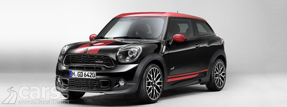 Mini John Cooper Works Paceman The Hot Mini Countryman Coupe