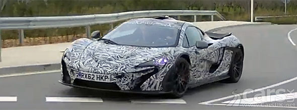 McLaren P1 caught on video photo