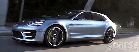 Image from Porsche Panamera Sport Turismo Video